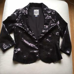 Forever 21 Sequin Blazer Jacket